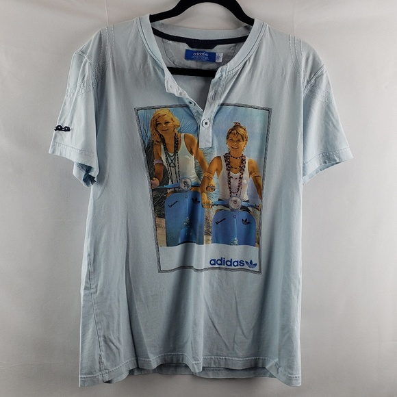 adidas Vespa riding t shirt